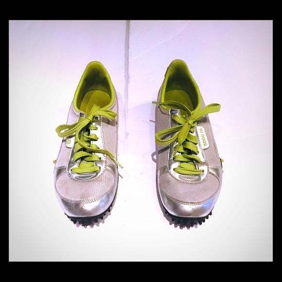 Puma Zapatos 5000m Metallic Plata Punch Lime Punch Plata talla 85 Poshmark 82a830